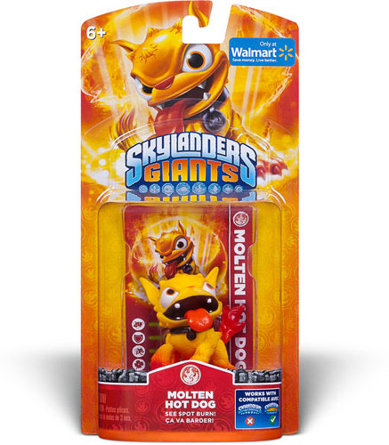 Skylanders Giants Molten Hot Dog Confirmed Walmart Exclusive