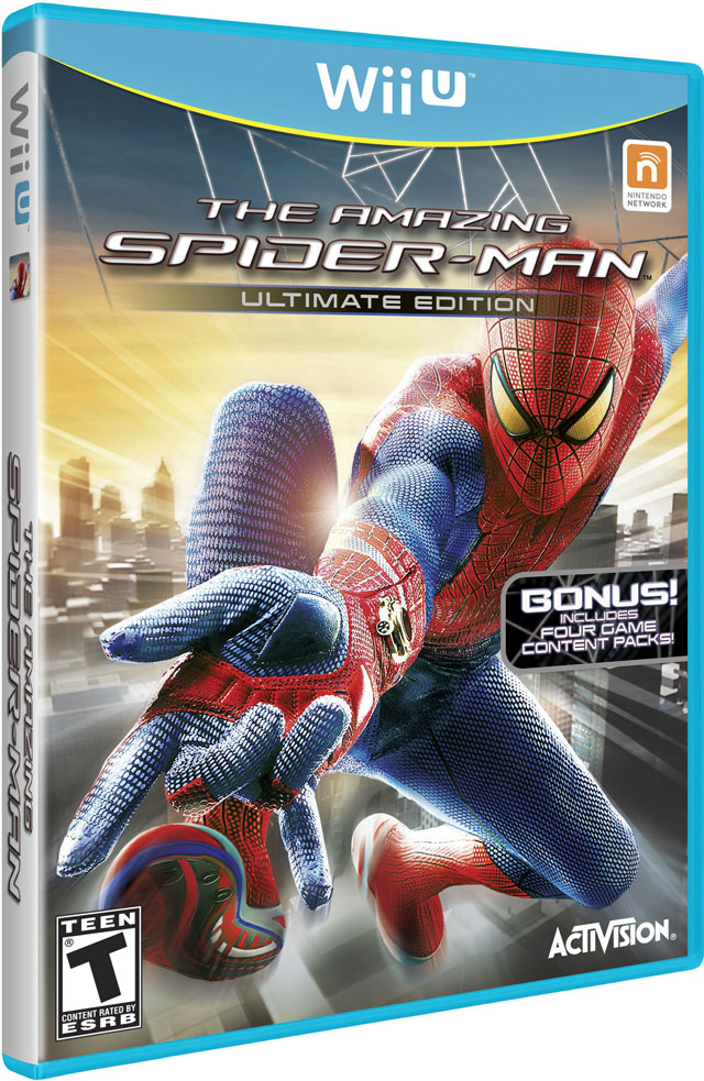 The Amazing Spider-Man Ultimate Edition Sticks to Wii U on March 5