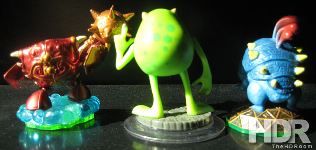 Skylanders and Disney Infinity: Sizing Up the Figures