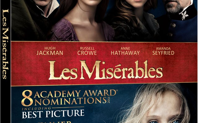 Les Miserables Gets Friday Blu-ray Release on March 22