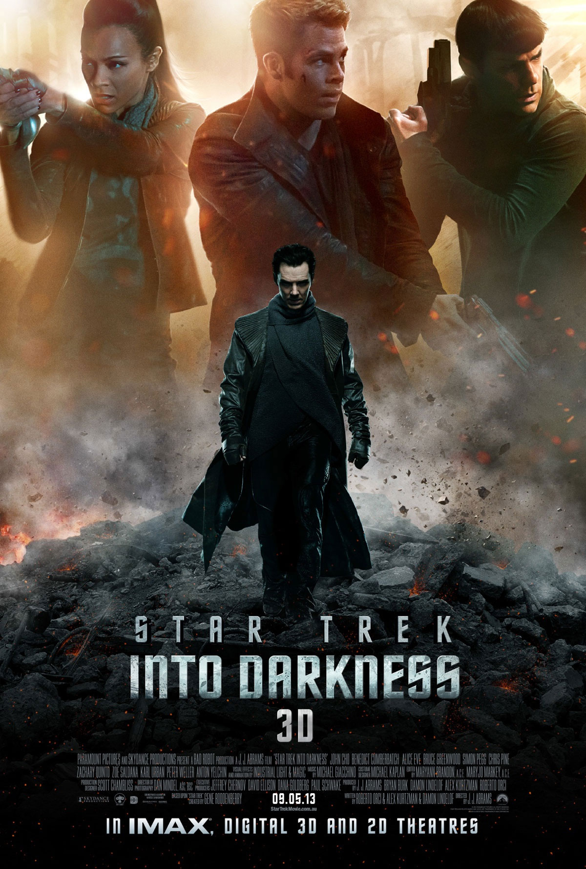 Star Trek Into Darkness International Trailer Sees Cumberbatch Attack