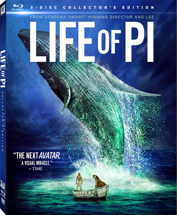 Life of Pi Blu-ray 3D Review