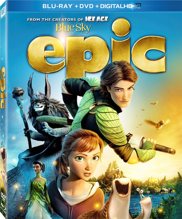 Epic Dvd Front Cover Epic Blu-ray 3D and Bl...