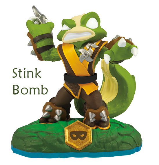 Skylanders Swap Force Stink Bomb