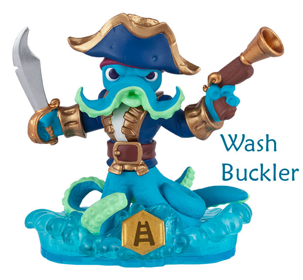 Skylanders Swap Force Wash Buckler