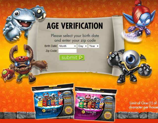 Skylanders Giants Frito-Lay Sidekicks Promotion is Underway