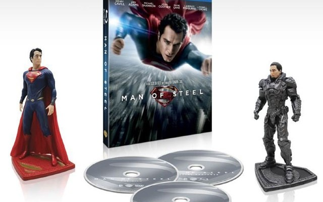 Man of Steel Blu-ray Pre-Order with Exclusive is Up, No Release Date Yet