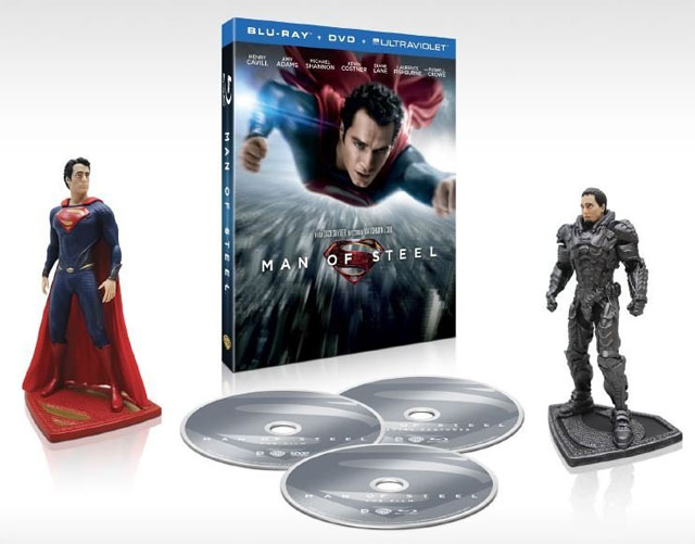 Man of Steel Blu-ray Pre-Order is Up, No Release Date Yet