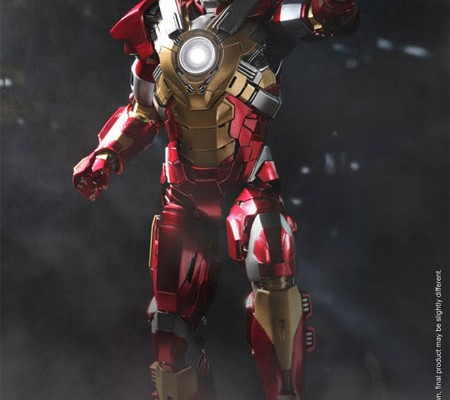 Hot Toys Iron Man 3 Mark 17 Heartbreaker Figure Up for Pre-Order