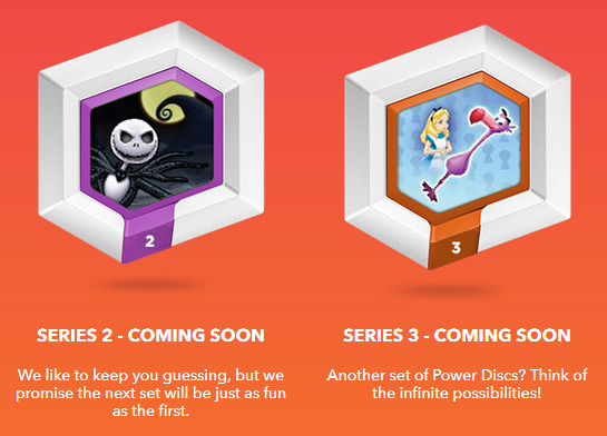 Disney Infinity Power Discs Series 2 and 3 Teased