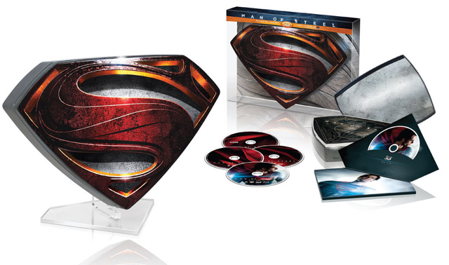 Man of Steel Blu-ray Release Date and Limited 3D Collector's Edition Unveiled