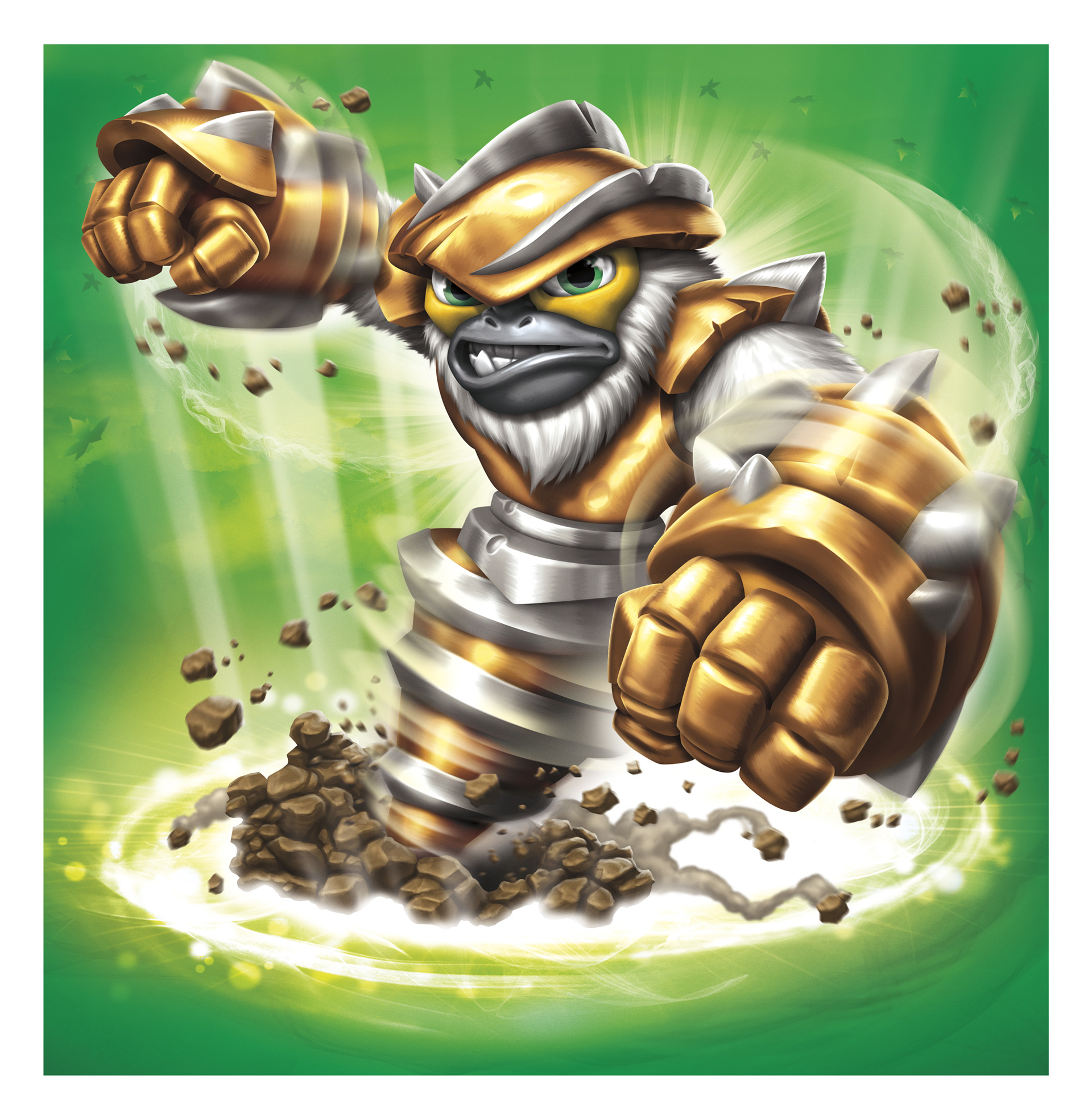 Skylanders Swap Force Characters Detailed: Zoo Lou, Grilla Drilla, Boom Jet and Slobber Tooth
