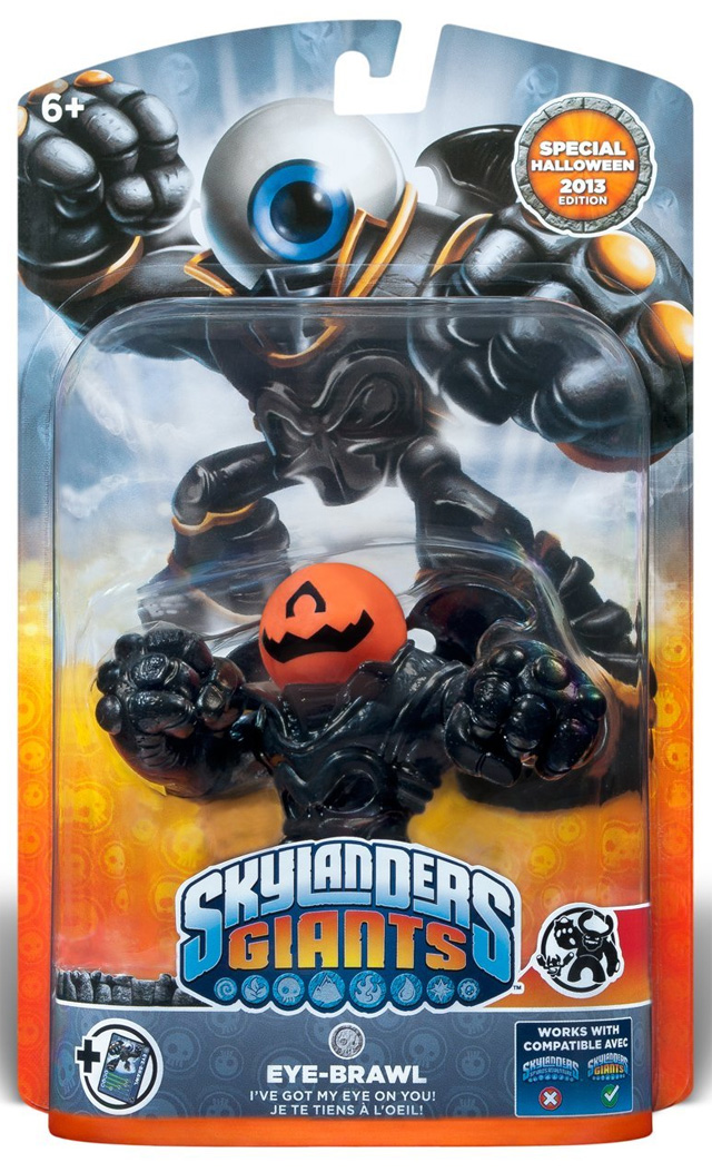 Pumpkin Eye Brawl Halloween Edition Skylander Variant Coming