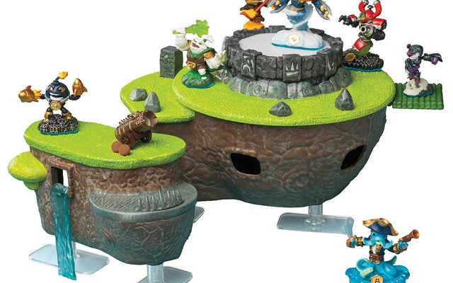 Skylanders Swap Force FunPlay HideAway Skylands and Flynn's Ship Pre-Orders Appear