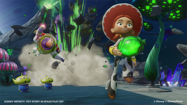 Disney Infinity: Toy Story in Space Review: A Pacifist Mission