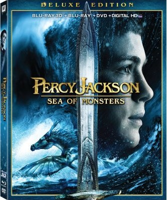 Percy Jackson: Sea of Monsters Blu-ray 3D Release Date, Details and Cover Art