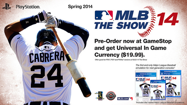 MLB 14 The Show PS4 Confirmed and Teased with Screens and Featurette