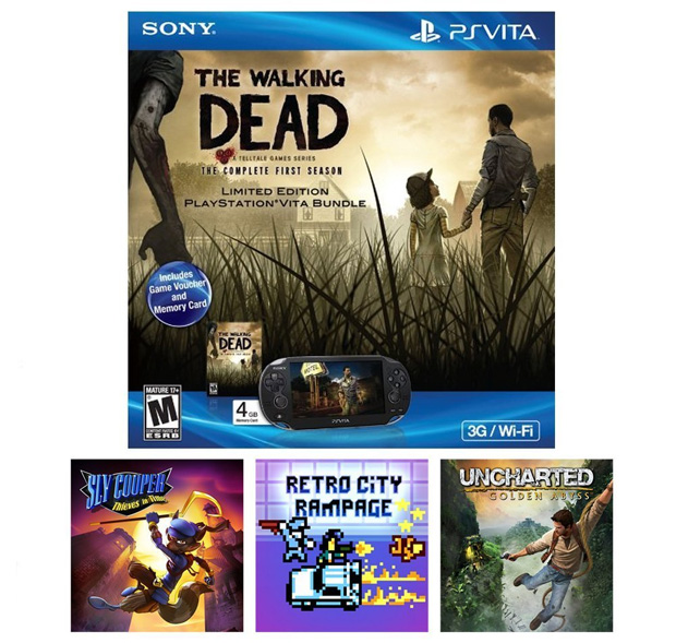 PS Vita Black Friday Deal: Amazon Exclusive The Walking Dead Bundle Under $175