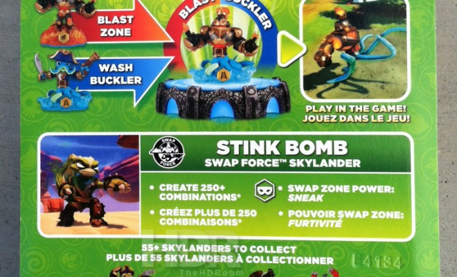 Skylanders Swap Force Wave 3 Found: Stink Bomb, Rubble Rouser and Spy Rise (Updated)