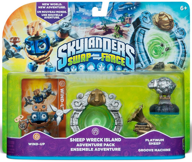 Skylanders Swap Force Dune Bug, Hyper Beam Prism Break and More in Stock at Amazon