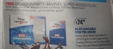 Disney Infinity 2.0 Retail Leaks: Venom, Nick Fury, Ultimate Spider-Man Play Set and More