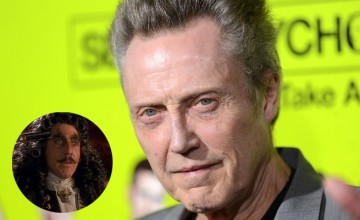 Christopher Walken Captain Hook