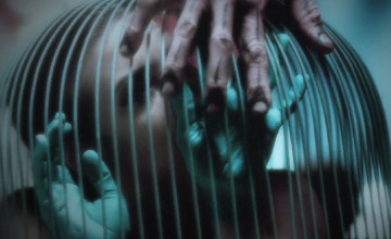 American Horror Story: Freak Show caged
