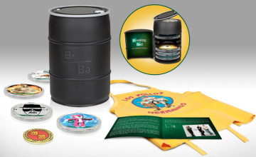 Breaking Bad complete series Blu-ray barrel