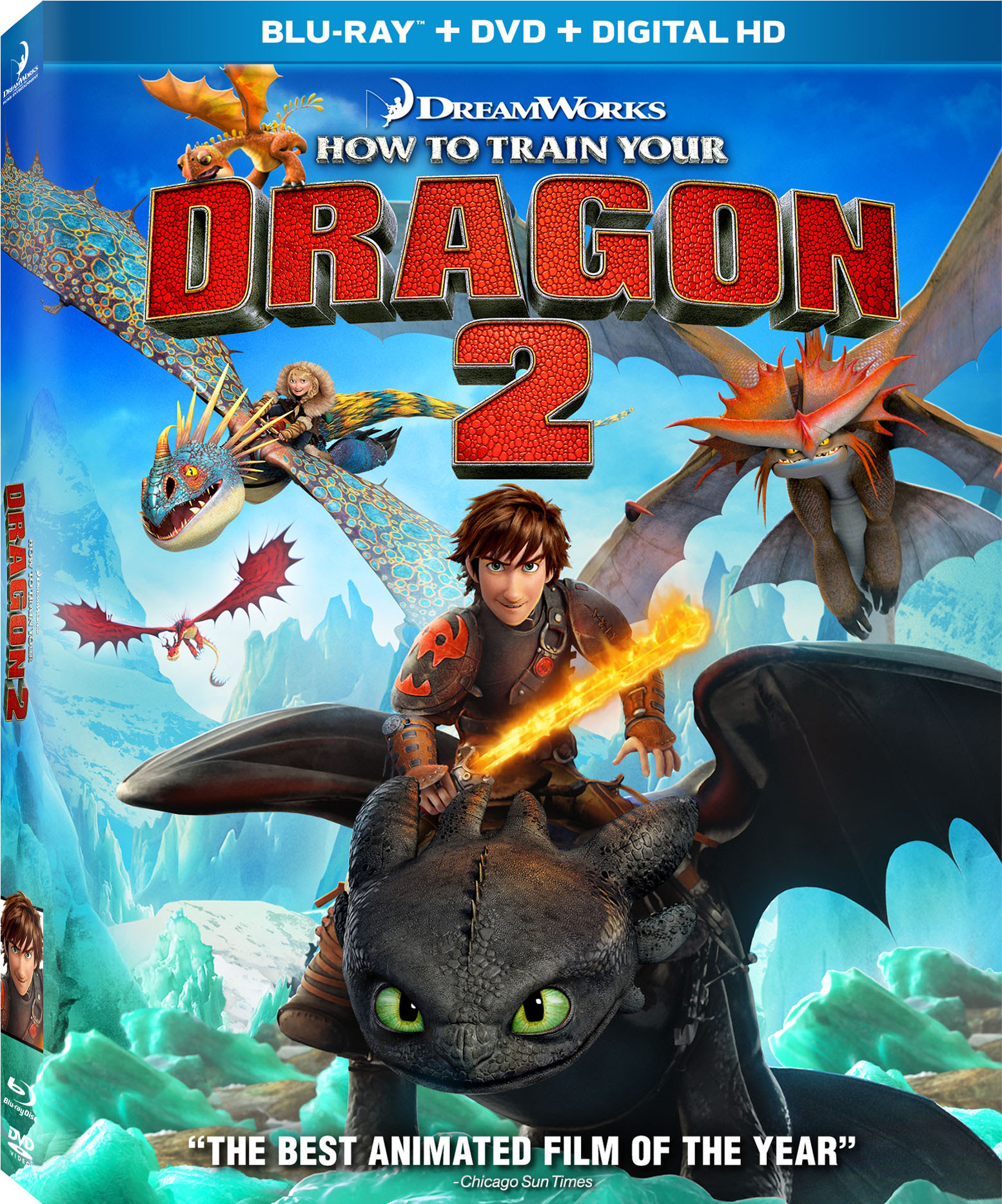 How to Train Your Dragon 2 Digital Release Date in October ...