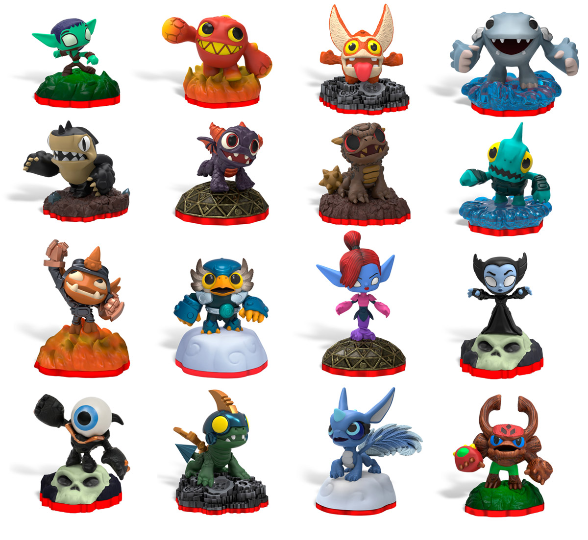 Skylanders Minis Sneak Into Skylanders Trap Team - TheHDRoom