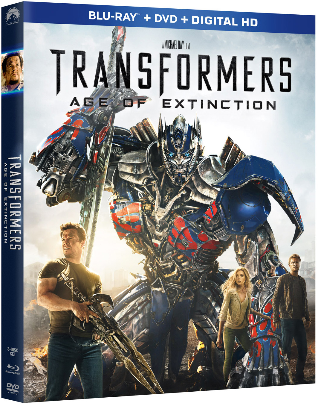 transformers age of extinction blu ray 3d blu ray and dvd coming september 30 thehdroom. Black Bedroom Furniture Sets. Home Design Ideas