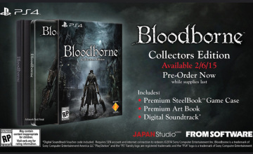Bloodborne Collector's Edition PS4 pre-order
