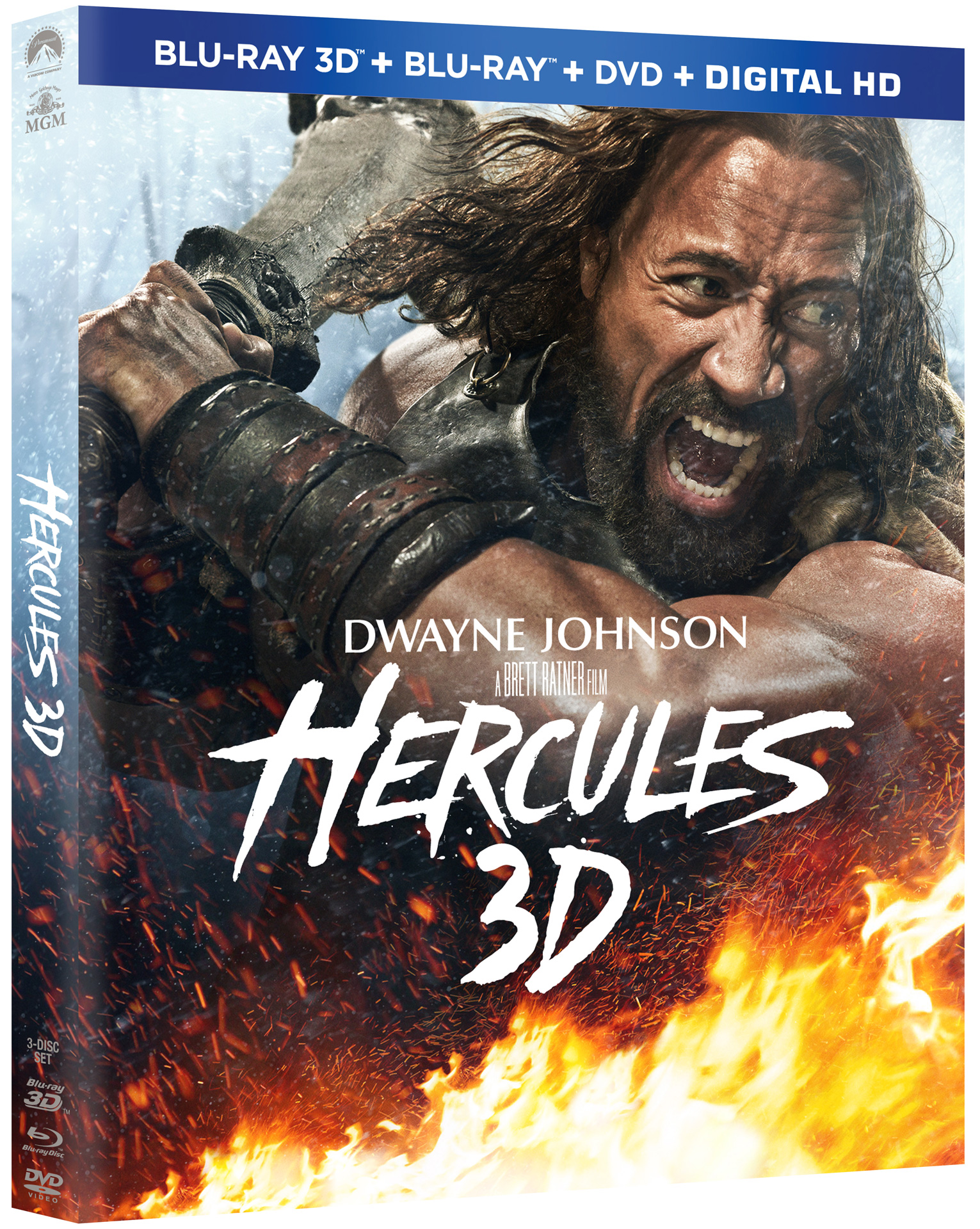 Hercules Extended Cut Starring The Rock Headed to Blu-ray ...