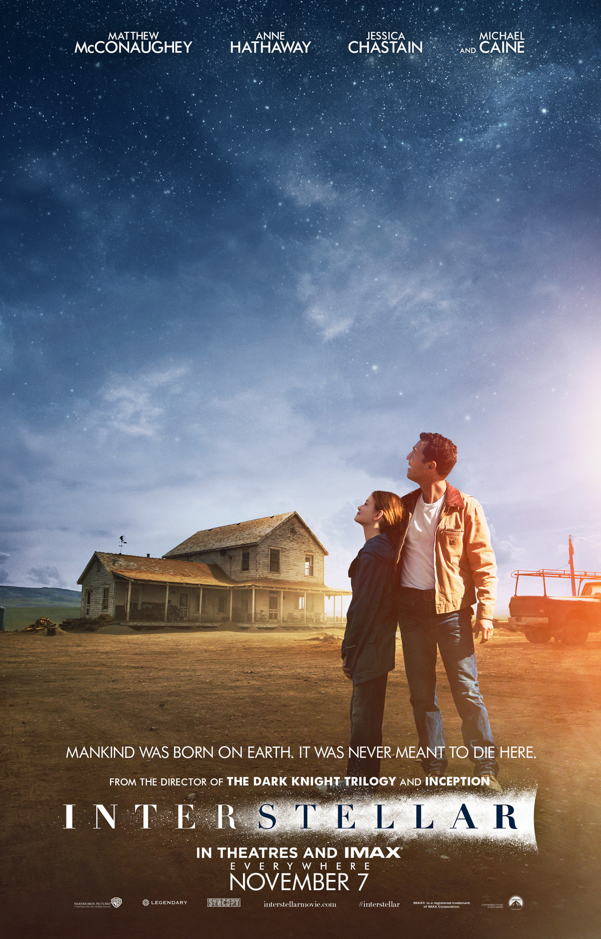 Four Interstellar Movie Posters Cover Earth and Beyond ...