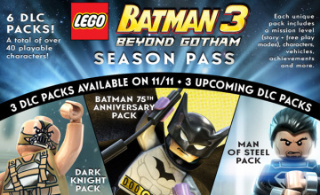 Lego Batman 3 Beyond Gotham Season Pass DLC