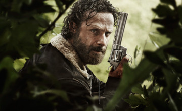 The Walking Dead Season 5 key art Rick