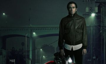 Jake Gyllenhaal stars as Lou Bloom, a self-made monster in Nightcrawler.