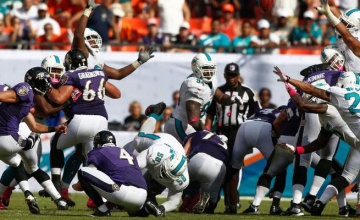 Watch Ravens vs Dolphins live free