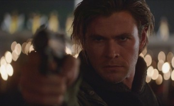 In Blackhat, Chris Hemsworth uses a gun more than he uses a computer -- and he's a hacker.