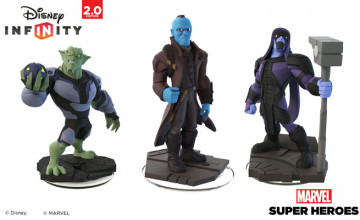 Disney Infinity 2.0 Villains figures