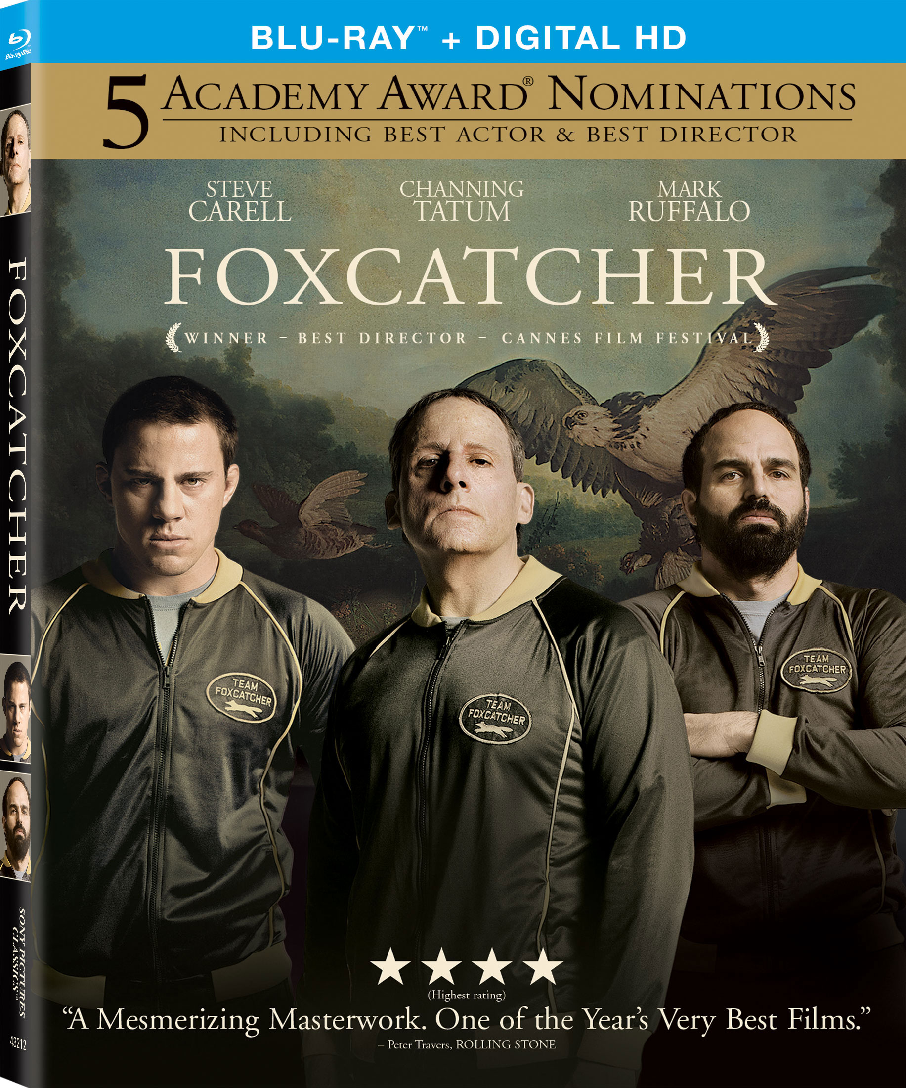 Foxcatcher Blu-ray Cover
