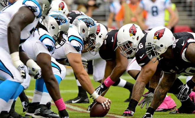 fooball on line cardinals panthers game online