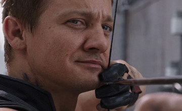 Avengers: Age of Ultron Hawkeye Poster Jeremy Renner