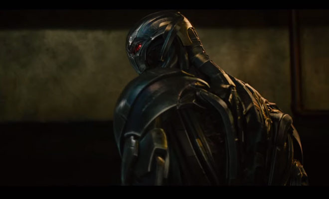The Vision Avengers Age Of Ultron Trailer