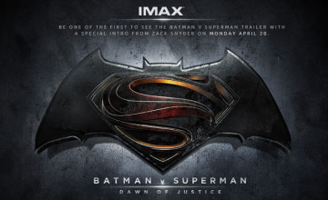 Batman v Superman trailer IIMAX