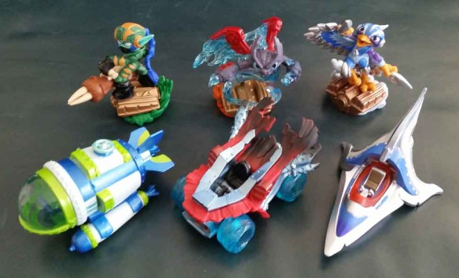 Skylanders SuperChargers Land Sea Air