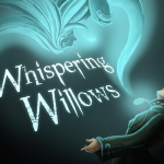 In Whispering Willows, Elena Elkhorn searches for her missing father and uncovers a horrible tale of a very bad man.