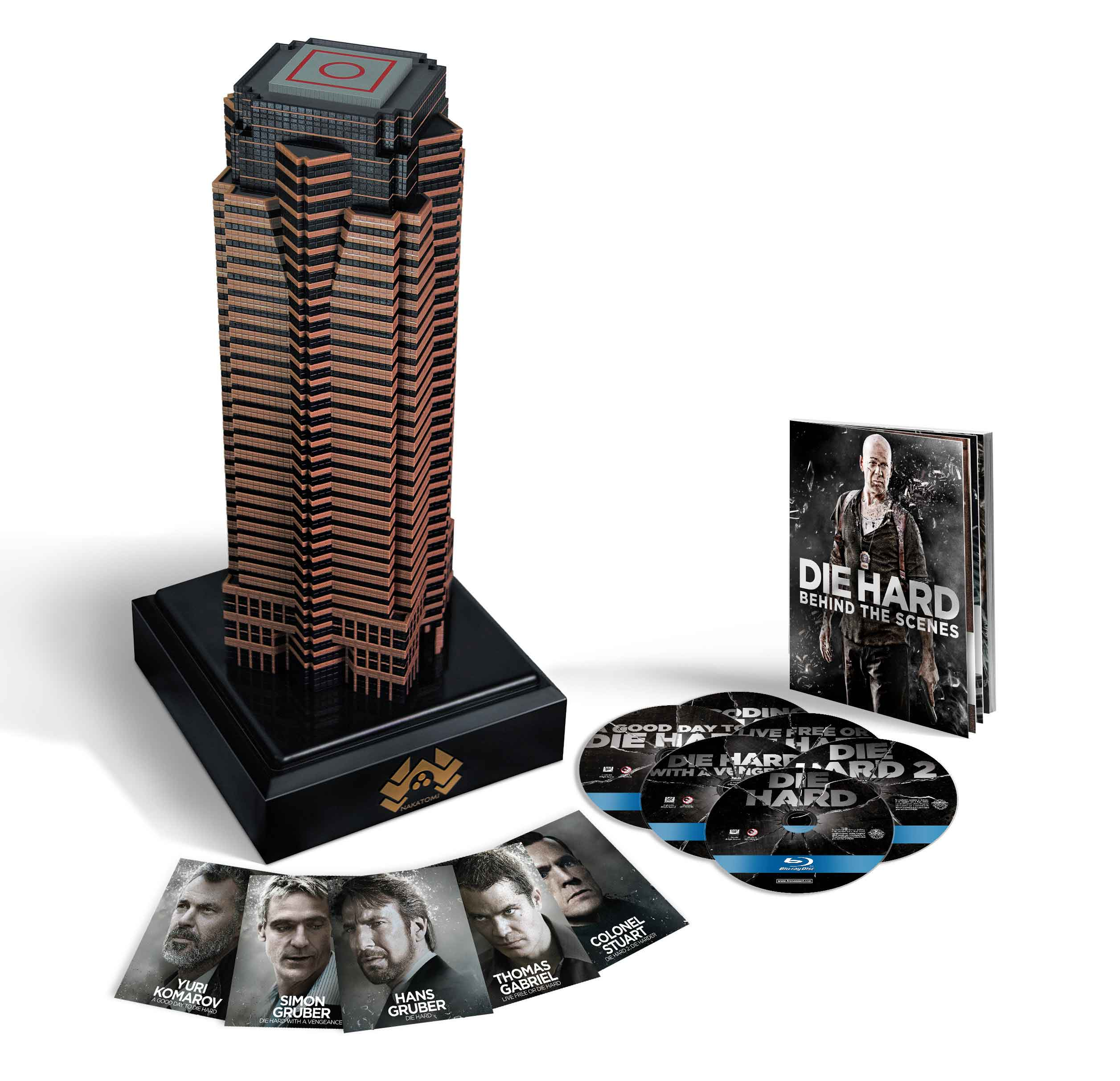 Nakatomi Plaza: Die Hard Collection Blu-ray Set Is 40