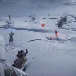 Star Wars Battlefront alpha footage