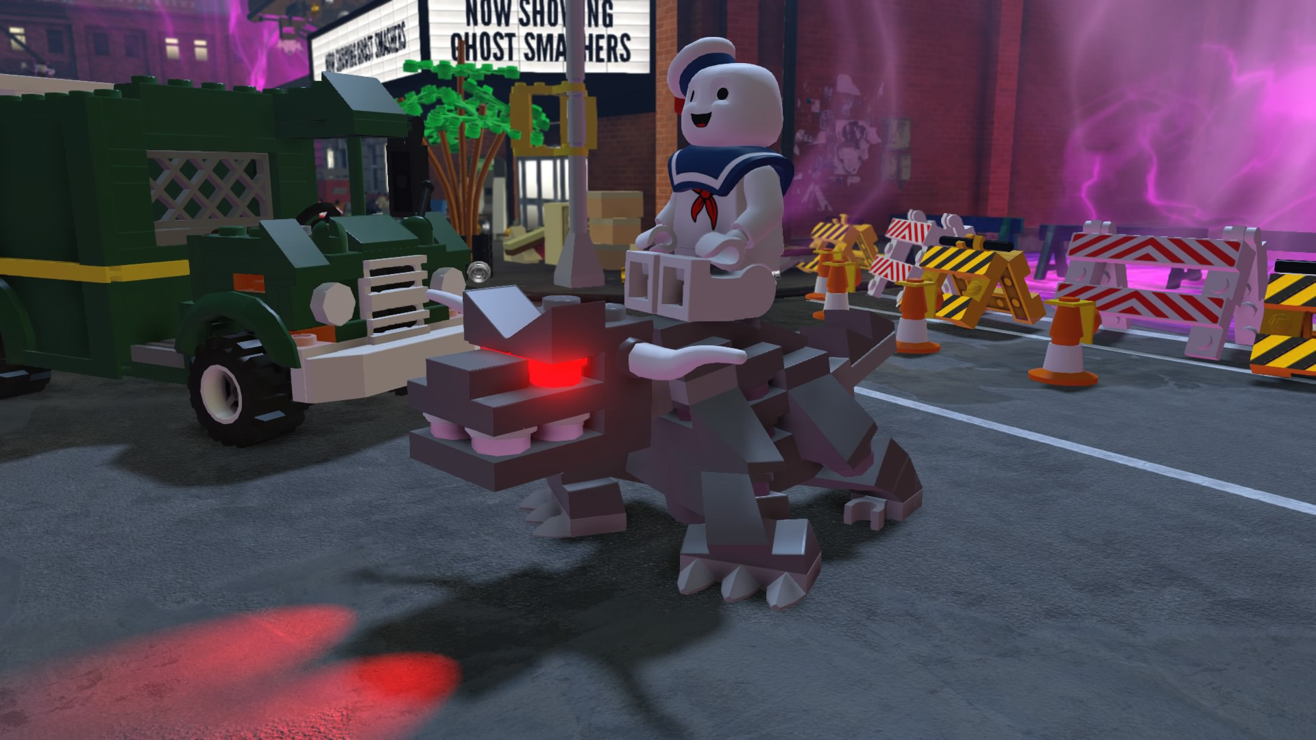 how to make a lego stay puft marshmallow man